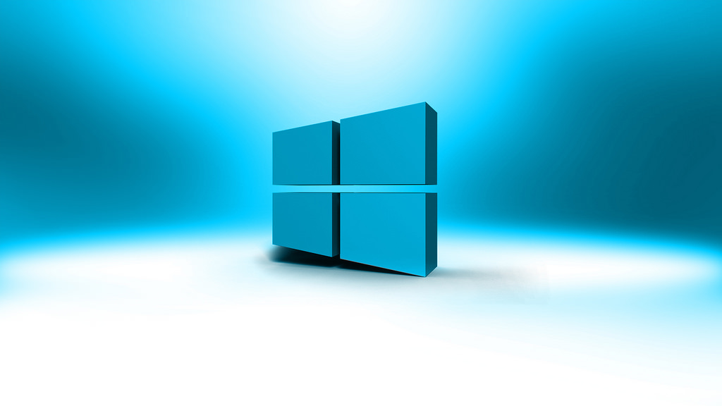 Windows 10 Logo 3D